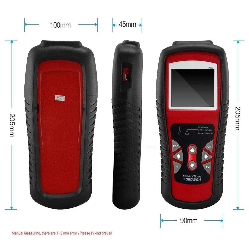 Buy KONNWEI Car OBD2 Scanner,Automotive Diagnostic Scan Tool Color