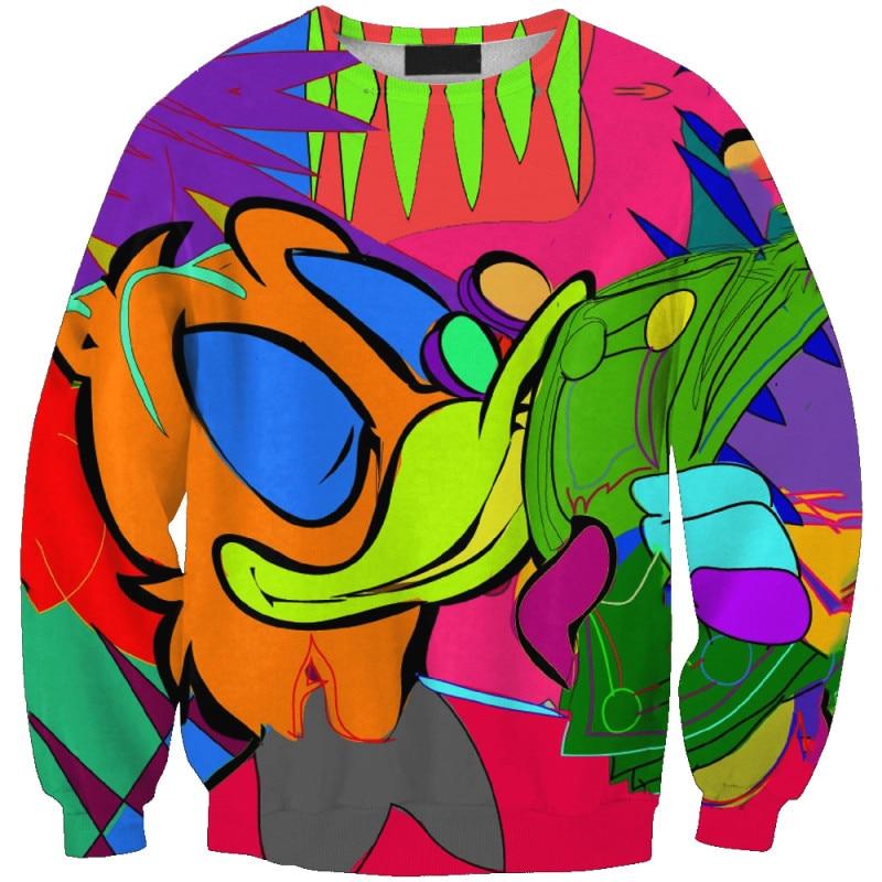 PLstar Cosmos funny Women/Men Hoodie 3D Print Casual Hoodies Sweatshirt plus size XS-7XL Cartoon mouse cute Collage Print Unisex