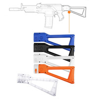 Worker AK Mold ABS Shoulder Tail Stock Buttstock Toy Accessories For Nerf Toy Gun