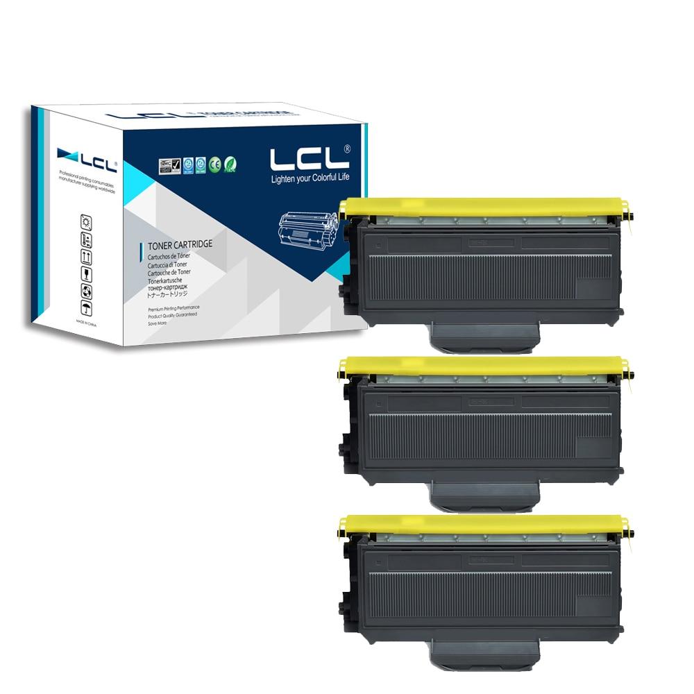 ФОТО LCL TN2150 TN2130 TN-2130 TN-2150 (3-Pack Black) Toner Cartridge Compatible  for Brother HL-2140 2150 2170WMFC-7440N/7450/7840W