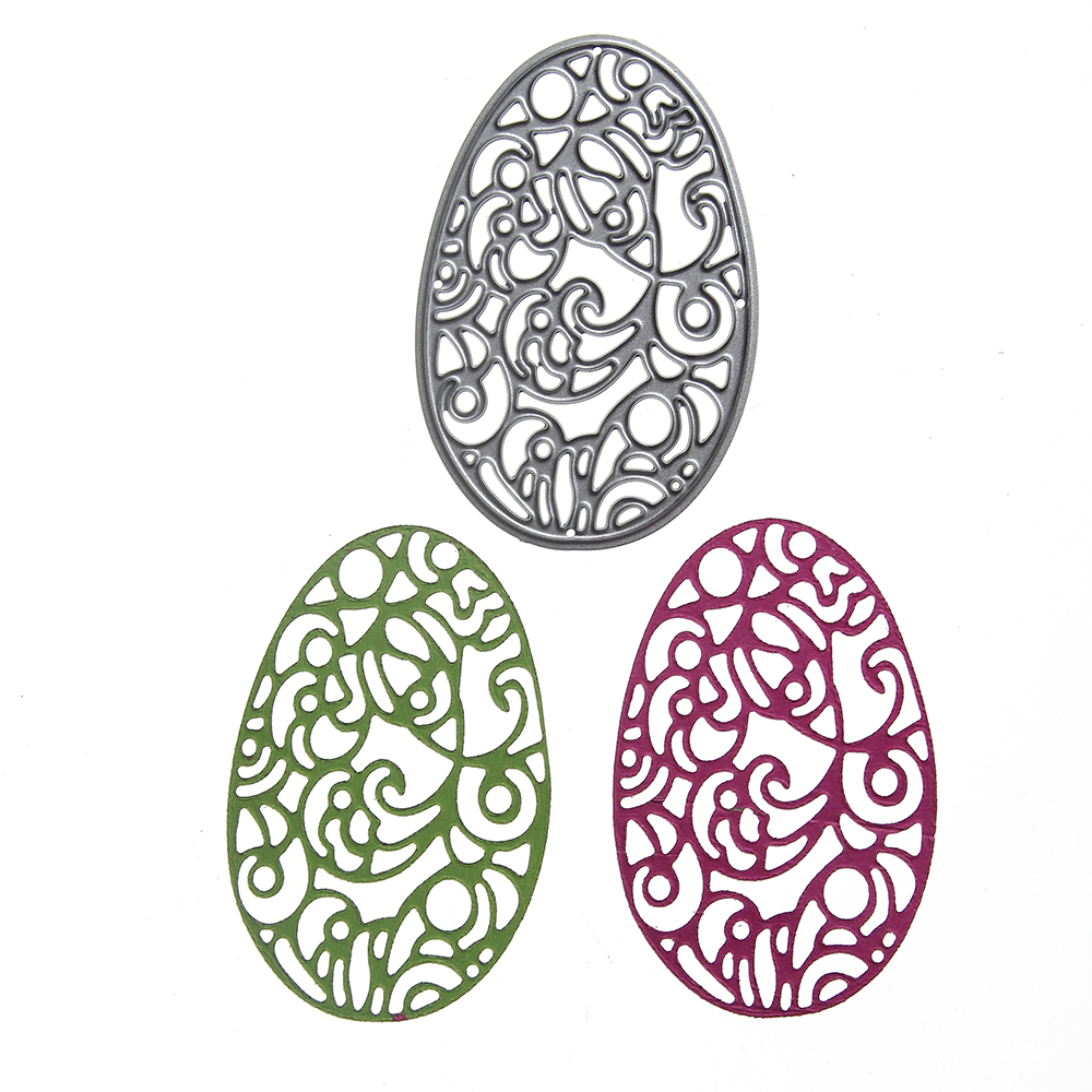 New Ellipse Lace shape Dies Metal Embossing Cutting Dies Stencil Craft DIY Scrapbooking Holiday decoration Holiday decorations