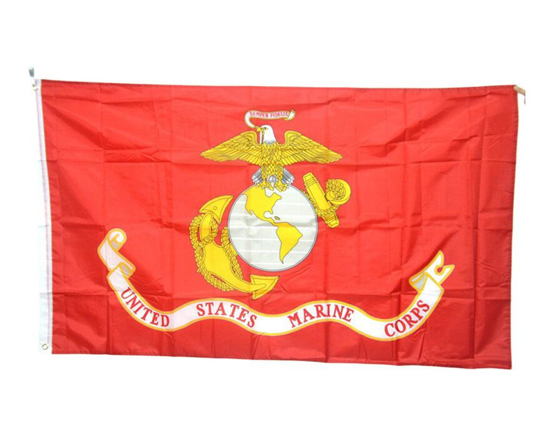 Online 90cmx150cm High Quality Large United States Marine Corps Flag Home Decor Polyester Usmc American Army Usa Banner 3x5 Ft Aliexpress Mobile