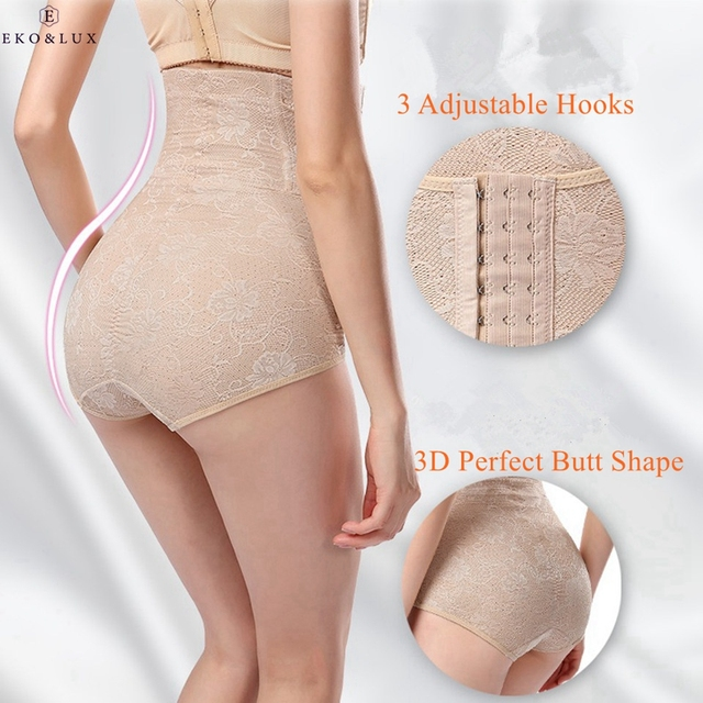 3fc46489b2 EKO LUX 2017 Sexy Slimming Pants Women Butt Lifter Body Shaper Control  Panties Underwear Panty high Waist Corset Tummy Trimmer