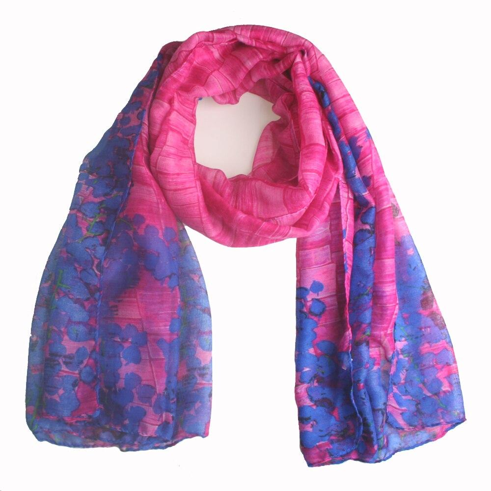 YOUHAN 2018 Fashion Women Scarf Stone Flower Print Viscose Scarf Spring Summer Lady Scraf Shawl Wrap Soft Lightweight 6 Colors