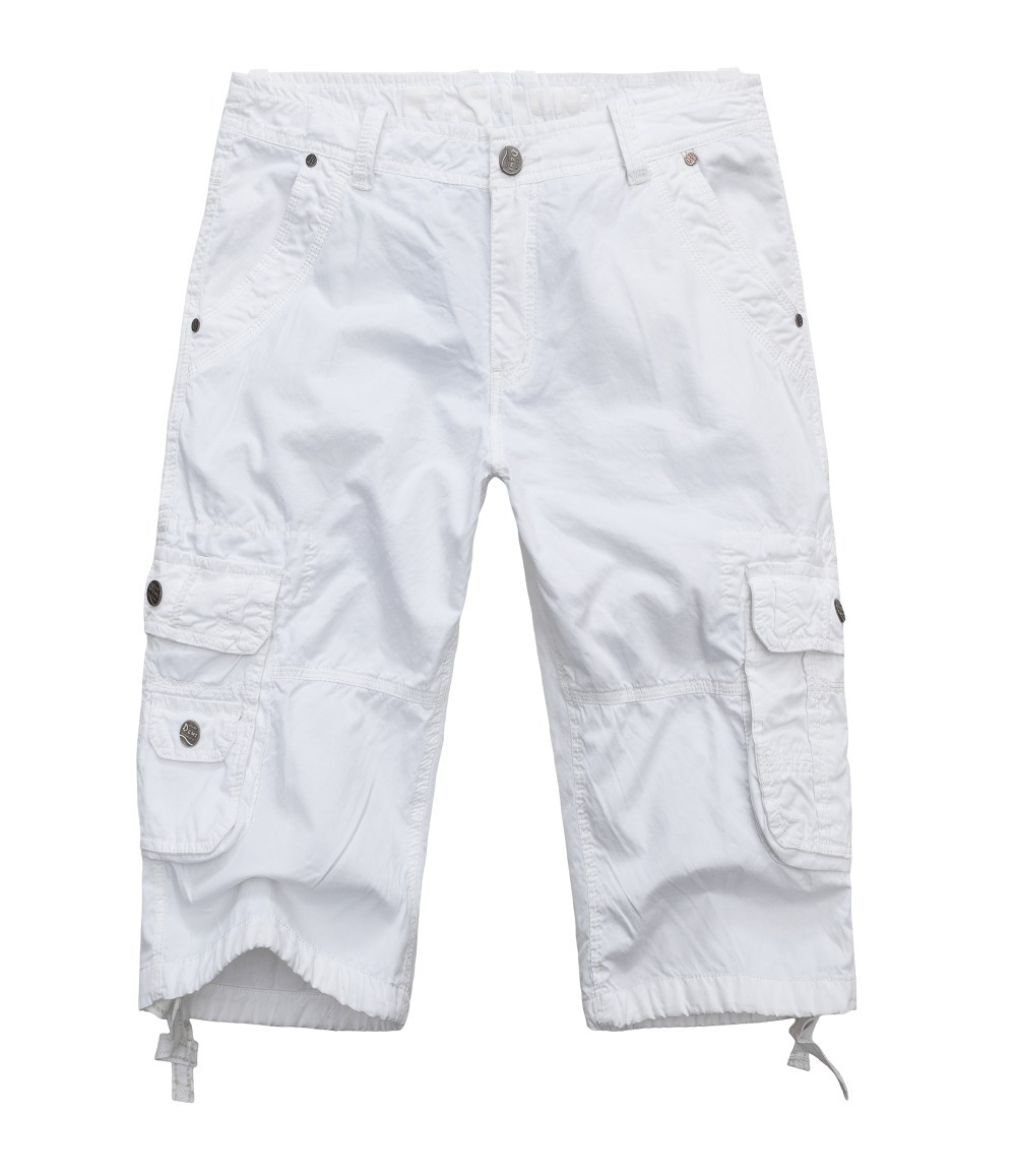 white cargo pants brand s casual board bermuda shorts plus size 10233