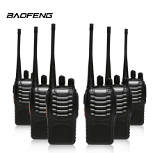 6pcs/lot Baofeng bf-888s Walkie Talkie Two Way Radio UHF 400-470MHz bf 888s CB Radio