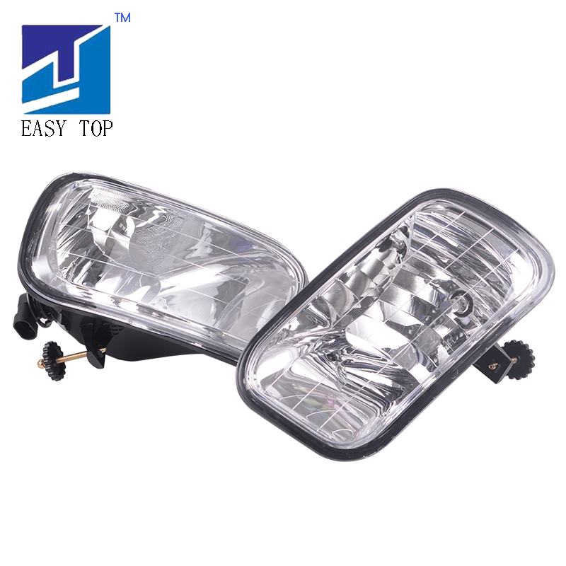 Left And Right Fog Lights Halogen Lamp For 09 12 Dodge Ram 1500 2500 3500