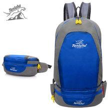 TANLUHU Outdoor Sports Foldable Backpack Multifunction Men Women Waist Bags Mountaineering Hiking Fishing Travel Rucksack XA36WA