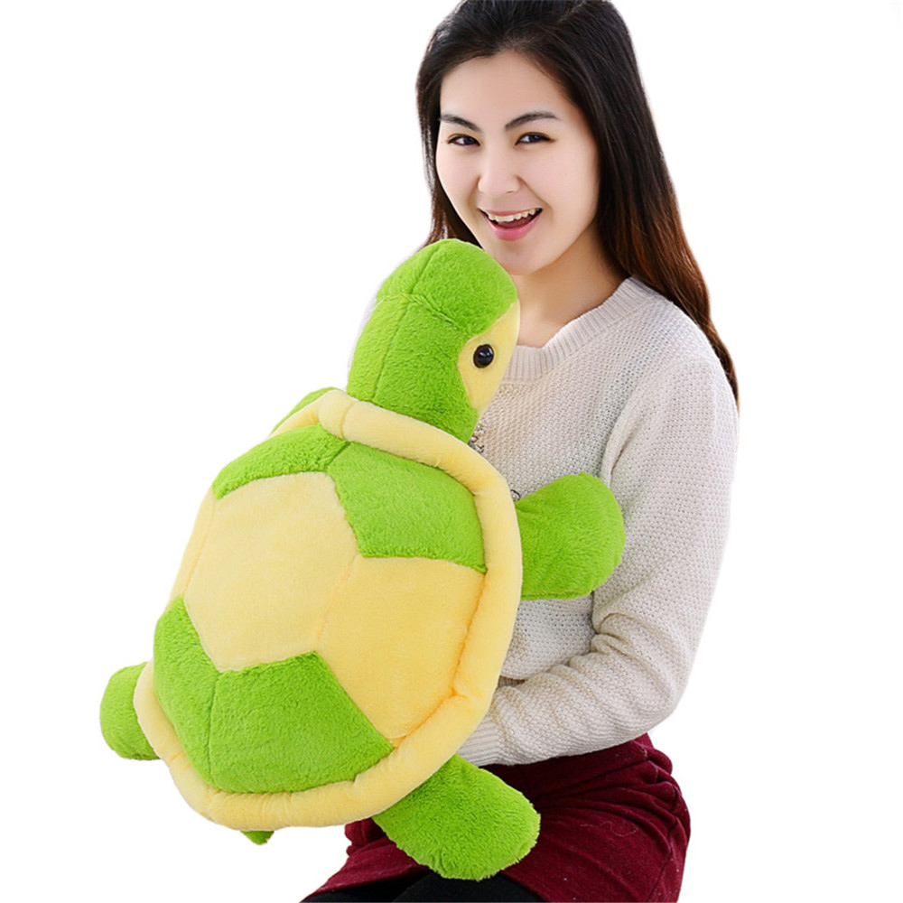 Fancytrader Giant Plush Soft Animal Tortoise Toy Big Stuffed Cartoon Turtle Doll Great Present  2 Sizes fancytrader 150cm lovely plush soft cartoon rabbit toy stuffed giant 59 animal bunny nice lover gift