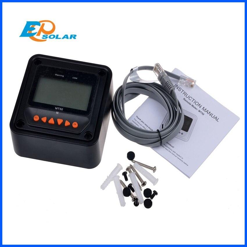 MT-50 Remote Meter für Tracer Serie MPPT Solar Laderegler und Programm EPsolar Controller mit LS-B,LS-BP, tracer-EINE Serie