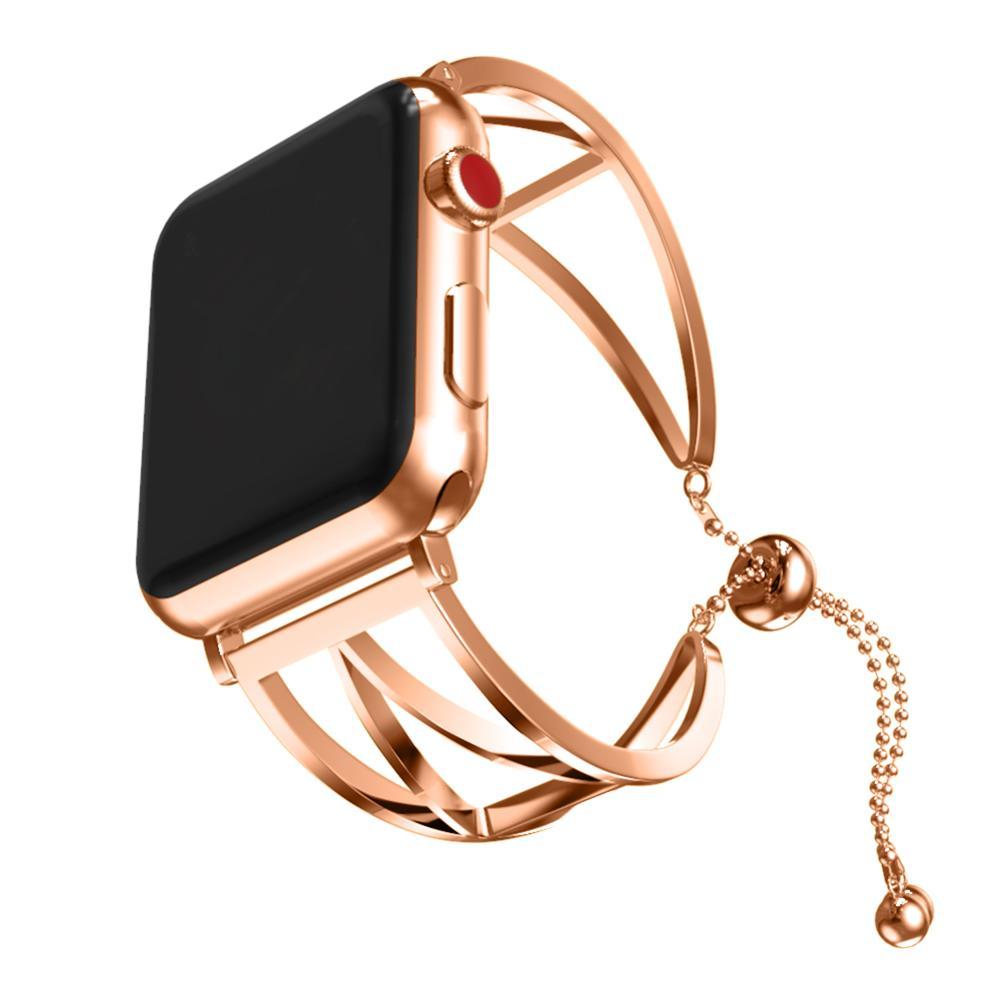 Schrittzähler Fitnessgeräte Humorvoll Edelstahl Armbanduhr Band Metall Uhr Band Ersatz Zubehör Für Apple Generation 1/2/3/4 Perfekte Verarbeitung