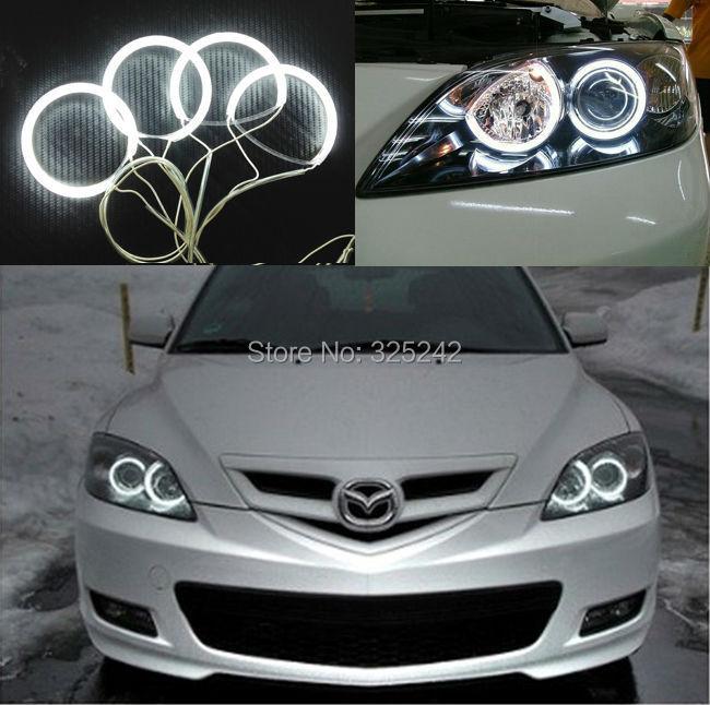 For Mazda 3 mazda3 2003 2004 2005 2006 2007 Excellent Angel Eyes kit NEW Ultra bright