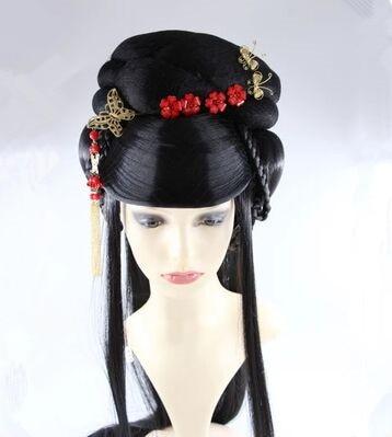 դասական կանայք մազերը հին չինական - Կարնավալային հագուստները