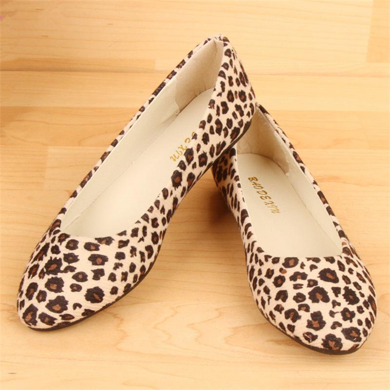 spring autumn loafer women shoes ladies ballet flats woman ballerinas casual shoe sapato zapatos mujer womens shoes plus size 43 Big Size Women Flats Shoes Woman Loafers Spring Autumn Flat Casual Fashion Leopard Shoes Women Zapatos Mujer Plus Size 35-43
