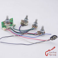 1 Set GuitarFamily Active 2 Band EQ Preamp Circuit For Passive Bass Pickup Made In Korea