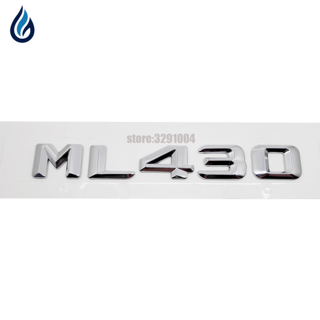 For Mercedes Benz Ml Class Ml430 Car Rear Tail Emblem Number Letters