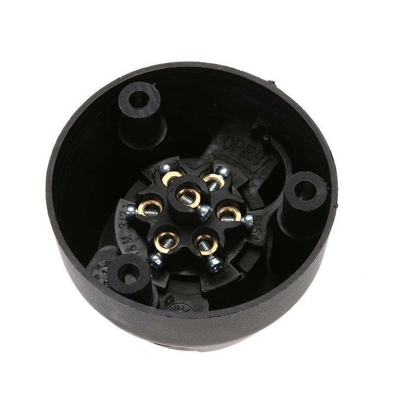 Tow Bars 12V 7 Pin Round Trailer Towing Car Plug Socket Wiring ...