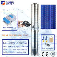 (MODEL 4JTSC5/145 D192/1500)JINTOP 4 INCHES SOLAR PUMP Imported Japanese CNC machine more 6 working procedures solar water pump
