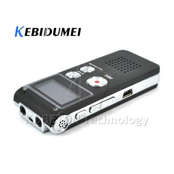 Digital Voice Recorder Intellektuell Kebidumei Mini 8 Gb Wiederaufladbare Digital Audio Voice Recorder Diktiergerät Mp3-player Aufnahme Stift Recorder Pen Ausreichende Versorgung