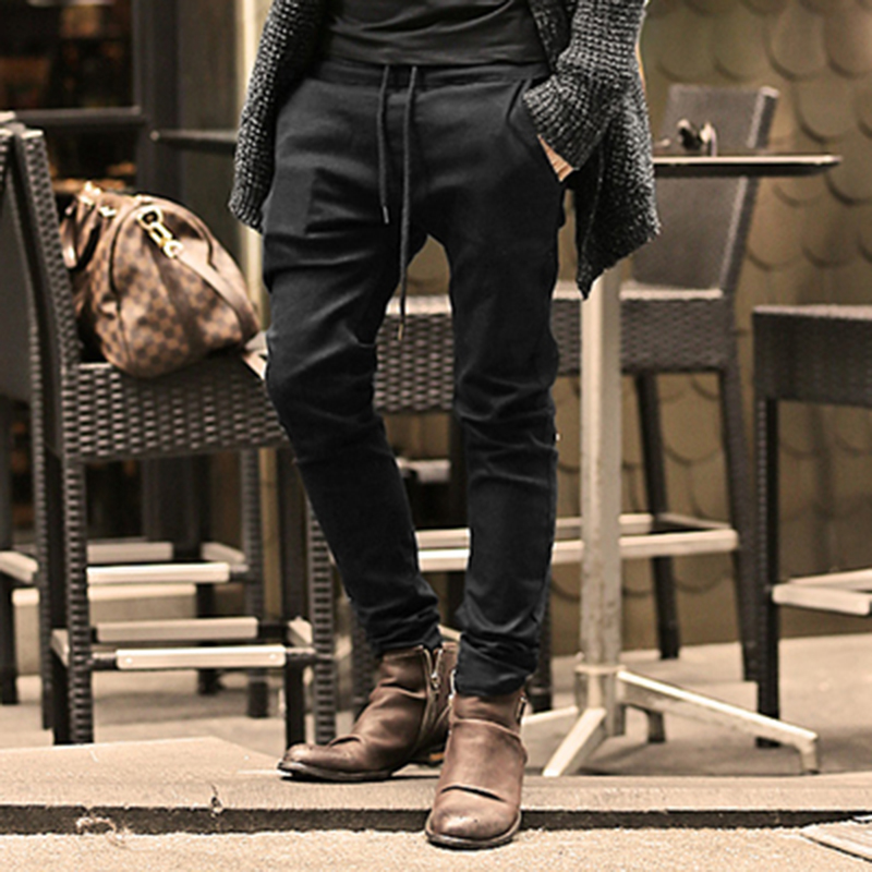2017 Spring Men New cotton casual high quality solid jeans trousers men hot sale slim breathable jeans men elastic skinny jeans grey 2015 spring male personality splice skinny pants the trend straight trousers slim long trousers thin men skinny jeans