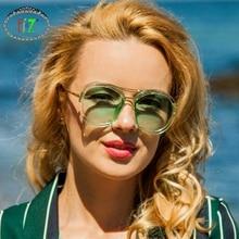 купить F.J4Z New Stunning Design Men's Sunglasses Fashion Round Trimming Gradient Lenses Women's Eyewear Unisex Shades UV400 по цене 412.86 рублей