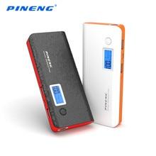 Pineng power bank 10000 мАч внешняя батарея портативное зарядное устройство dual usb led powerbank для iphone samsung lg htc pn-968