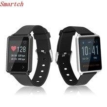 Smartch Новый Smart Watch TK002 монитор сердечного ритма браслет поддержка будильник вызова SMS напоминание beracelet для IOS телефона Android