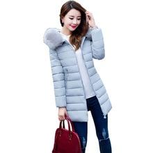 Big Size 5XL Winter Jacket font b Women b font 2017 New Europe Style Hooded Slim