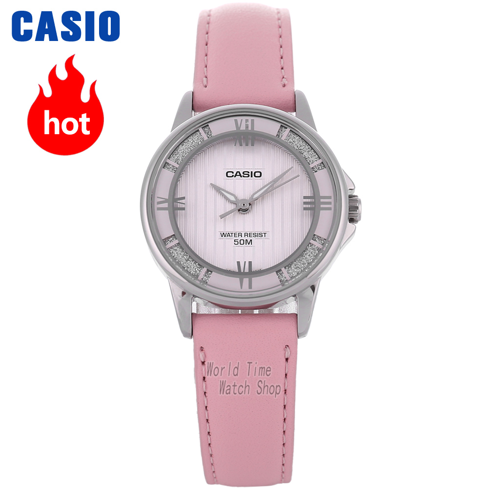 Casio watch ladies watch elegant and noble pointer series waterproof quartz watch LTP-1391L-4A2 LTP-1391L-2A LTP-1391L-5A casio ltp e118rl 5a