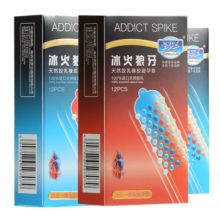 24pcs/Lot Ice And Fire Stimulate Dotted Gspot Condoms Pleasure for her Lubricated Ultra Thin Particle Condom Adult Sex Products durex 32 pcs lot adult sex products condom boxes feel thin extra lube natural latex condoms for men sex toys tool kondoms