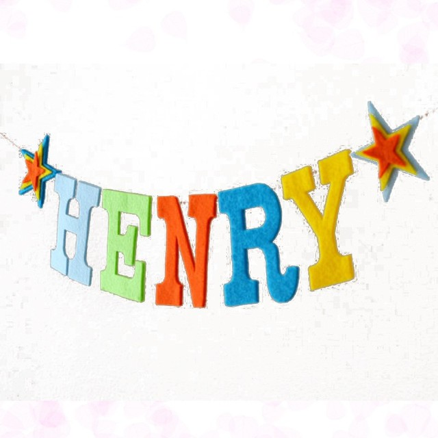 Us 10 59 Handgemaakte Baby Douche Banner Custom Baby Naam Bunting Hot Rainbow Brief Verjaardag Slingers Party Decoraties Nursery Guirlande Vlag In