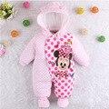 Bebé recién nacido ropa de invierno traje para la nieve bebé ropa bebé mameluco del invierno del bebé trajes de invierno trajes para niños ropa bebe