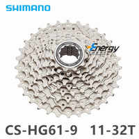 SHIMANO CS-HG201/30/300/400/ MTB Mountain Bike Bicycle parts 9S Cassette Freewheel 9/27 Speeds Flywheel 11-32/34/36T