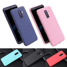 TPU Soft Cases For Samsung Galaxy A5 A6 A8 Plus case color Silicon Cover Samsung Galaxy A3 A5 A7 2017 A320 A520 Case Phone Cover все цены