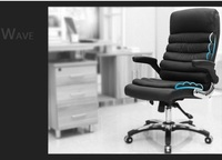 Enterprise Boss Chair Lying Down Stool Black Office Meeting Room Chair Free Shipping