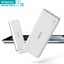 Banco de la Energía Externa 25000 mAh ROMOSS Sense9 3 USB Puerto de Carga para Samsung HTC Sony Nokia para Xiaoxi S6 Móvil Android teléfonos