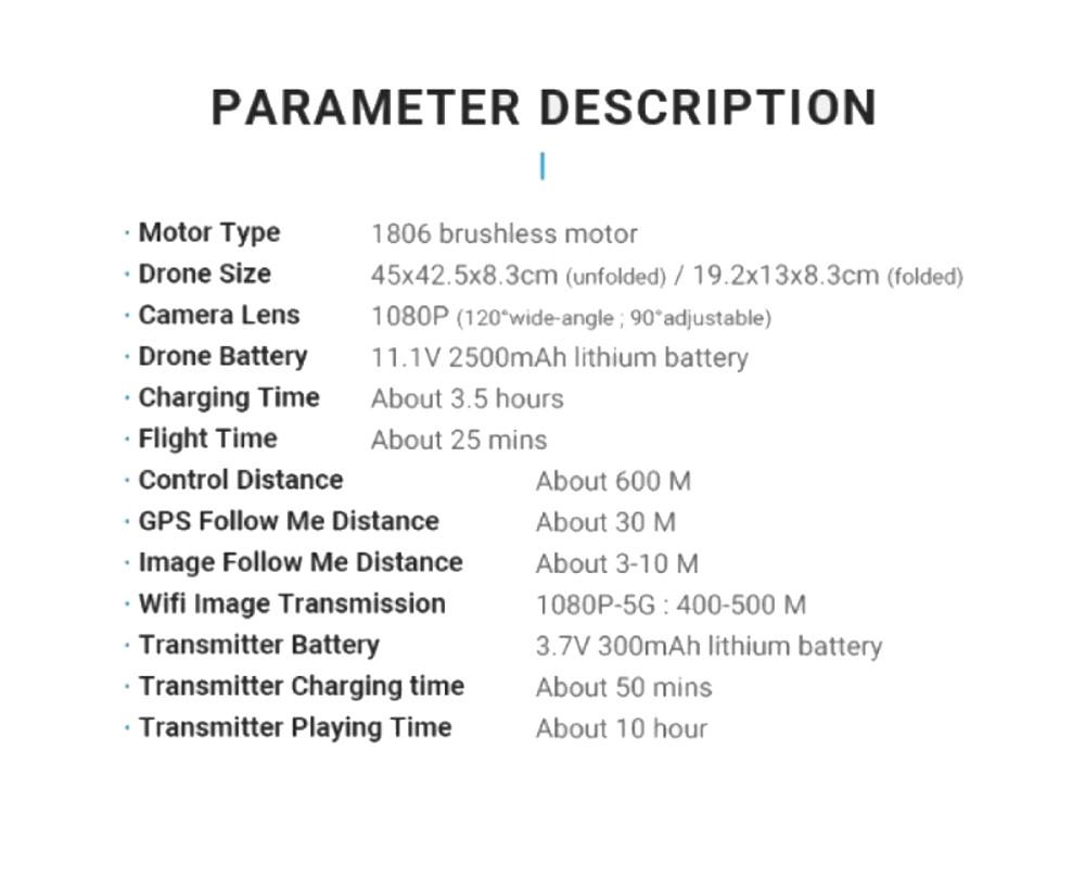 SJRC F11 PRO GPS Drone 9