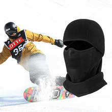Balaclava Face Mask Windproof Winter Thermal Fleece Cycling Breathable Hiking Skiing Hood Drop Shipping