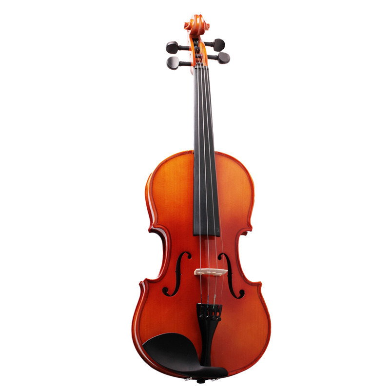 Violin 4/4 Full Size Acoustic Fiddle Musical Instruments with Case Bow Shoulder Rest Tuner Strings Maple Wood full size 4 4 solid basswood electric acoustic violin with violin case bow rosin parts accessories for musical instruments lover