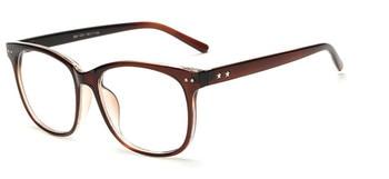 eyewear female men brand eyeglasses frame acetate optical frame glasses frame woman decorative mirrors Plain mirror