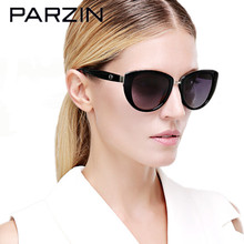 Parzin  Sunglasses Women Polarized Retro  Sunglasses Female Fashion Ladies Driving Sun Glasses With Case Black 9507