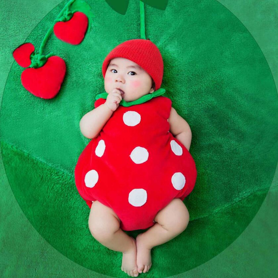 Strawberry Cosplay for Little Baby Halloween Cosplay Costumes Baby Photo Clothes for Boys and Girls Baby clothes-in Boys Costumes from Novelty u0026 Special Use ...  sc 1 st  AliExpress.com & Strawberry Cosplay for Little Baby Halloween Cosplay Costumes Baby ...