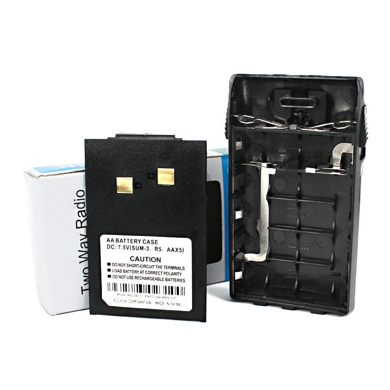 Radio 5 AA Battery Shell Case For Wouxun KG-UVD1P KG-UV6D KG-UV5D KG-UV3D KG-669 KG-679 KG-689 Plus KG-703 KG-810 Walkie Talkie