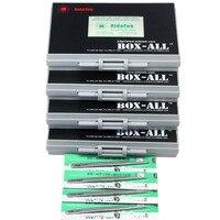 AideTek SMD Чип резисторы 0402 Размеры E96 серии 490 значения х 100 шт. 1% RoHS Ассорти пластиковые боковая часть этикетки R04E96100