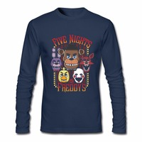Five Nights At Freddy S Multi Character Tshirt 3d New Vintage 100 Cotton Crewneck Long Sleeve