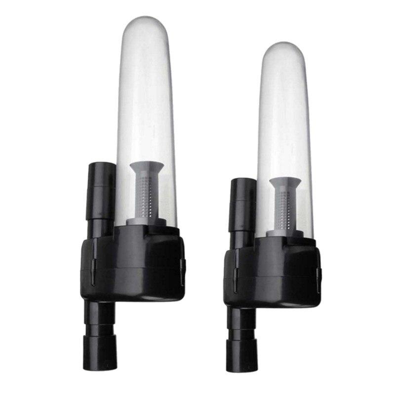 32/35mm Staub Abfangjäger Vakuum Tasche Zyklon Separator Collector Äußere Filter Staubsauger Teile