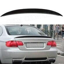 Для E92 задний спойлер из углеродного волокна для BMW E92 3 серии 328i 335i M3 Coupe спойлер 2006-2012 FRP P Стиль отделка багажника Наклейка крылья