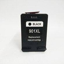 For HP 901 Black Ink Cartridge Officejet 4500 J4500 J4524 J4530 J4540 J4550 J4580 J4585 J4640 J4660 J4680 901XL