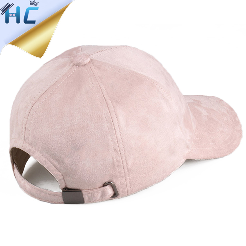 2016 Solid Baseball Cap Men Women Autumn Winter Gorras Dad Hat Snapback  Casquette Black Pink Hats Suede Cap Trucker Cap-in Baseball Caps from  Apparel ... 08f7633d228