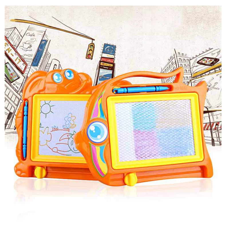 Kids Painting Magnetic Drawing Board Set Writing Doodle Stencil Learning Education Toys For Children